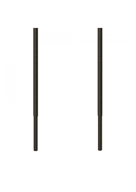 Ringpoint-Kορδόνι Κερωμένο Στρογγυλό Λεπτό Ανθρακί Σκούρο