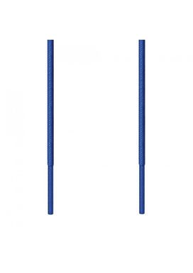 Kορδόνι Κερωμένο Στρογγυλό Λεπτό Μπλε