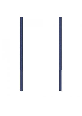 Kορδόνι Λεπτό Στρογγυλό Μπλε Marine