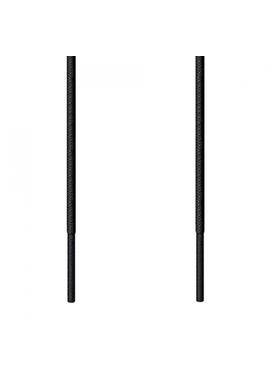 Kορδόνι Λεπτό Στρογγυλό Μαύρο