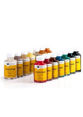Morello-Βαφή Αλλαγής Χρώματος Λείων Δερμάτων 40ml