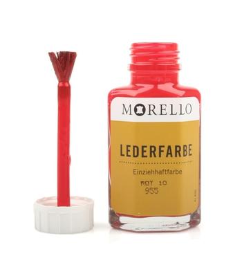 Morello-Βαφή Αλλαγής Χρώματος Λείων Δερμάτων 40ml Κόκκινο