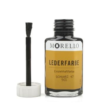 Morello-Βαφή Αλλαγής Χρώματος Λείων Δερμάτων 40ml Μαύρο