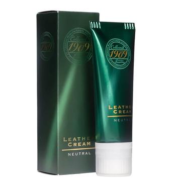 Collonil 1909 Premium Leather Cream-Άχρωμη Κρέμα για Δερμάτινα Είδη 3in1